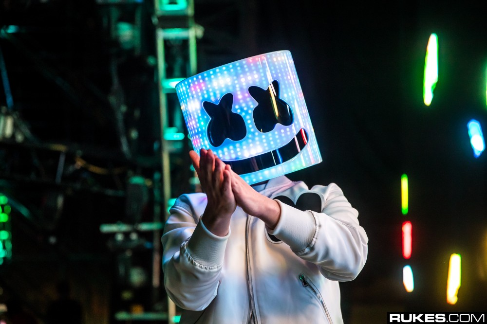 Marshmello Reveals Brand New Single Just In Time For