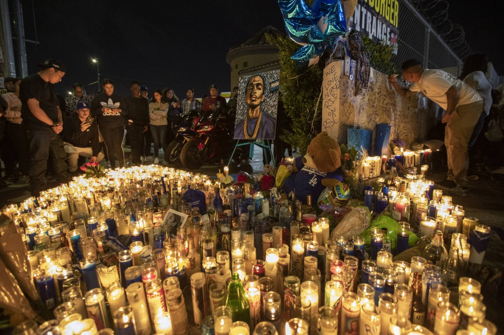 Nipsey Hussle Vigil: Police Say Somebody Tried To Commit Murder