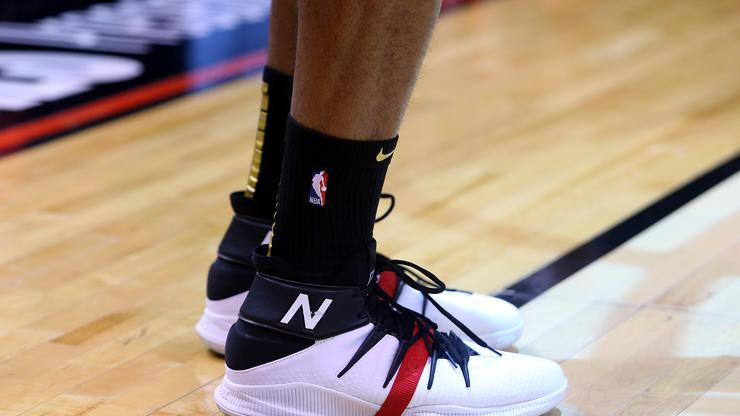 Kawhi Leonard New Balance Championship Parade Shoes 997